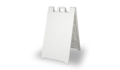 Signicade A-Frame Frame Only. Can Mount board with velcro to back or direct apply vinyl decals and lettering