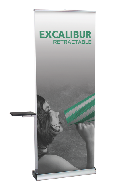 Excalibur 920 Retractable Banner Stand DOUBLE SIDED Stand Only