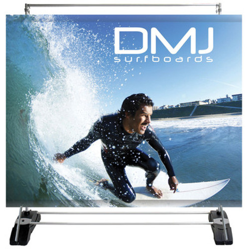 Outdoor Banner Wall Single-Sided Graphic Package