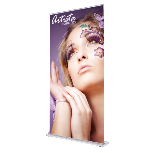 Silver Display Retractable 48 in x 92 in