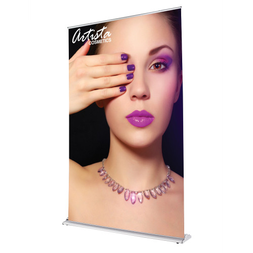 Silver Display Retractable 60 in x 92 in