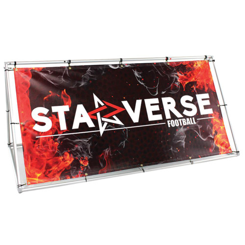 Foundation Outdoor Banner Stand Graphics Package Single Sided