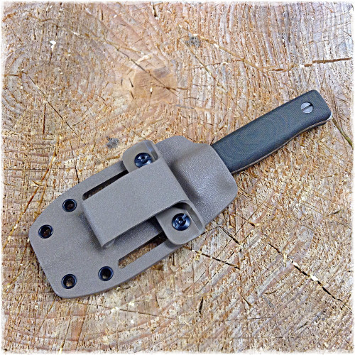 GSO-3.5 in a Spring Flat Dark Earth Kydex sheath