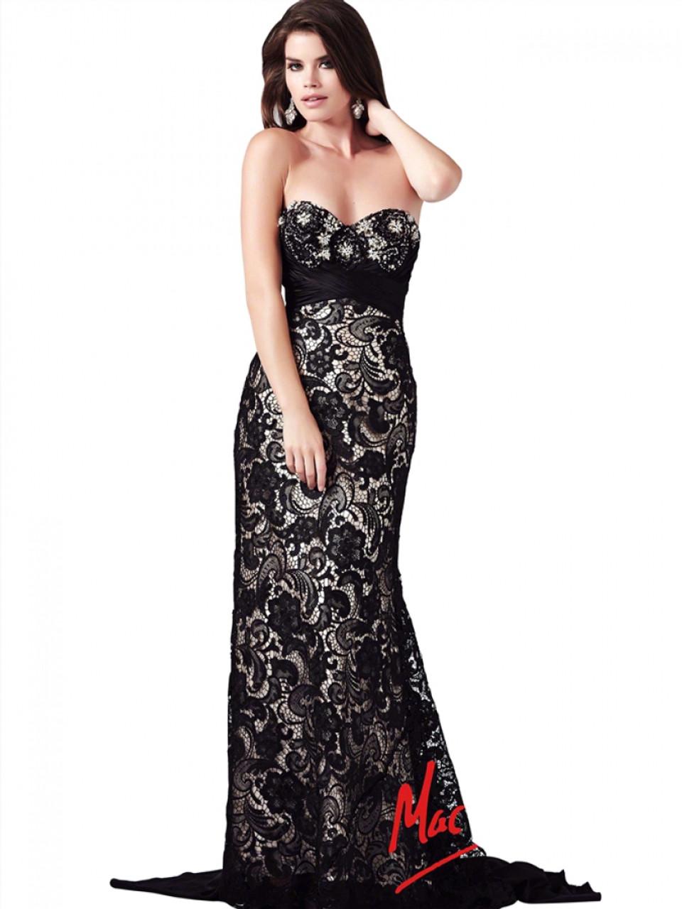 Mac Duggal 78439M - Strapless Long Dress