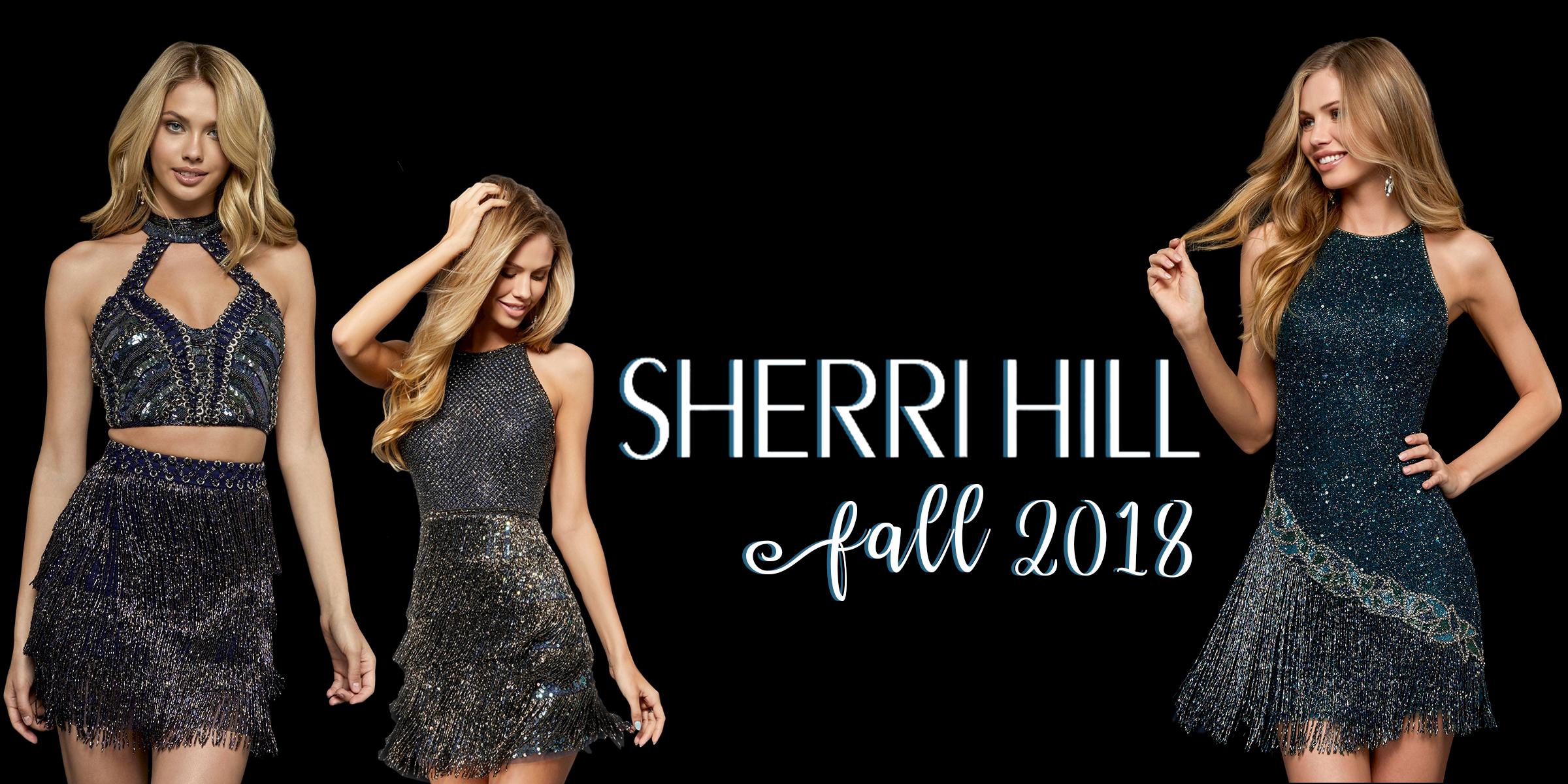 Sherri Hill homecoming dresses