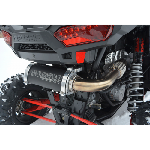BMP 2016-UP POLARIS RZR XP TURBO FULL STAINLESS STEEL BIG MO EXHAUST