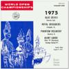 1975 - World Open Championships - Vol. 1