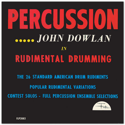 1962 - Percussion - John Dowlan