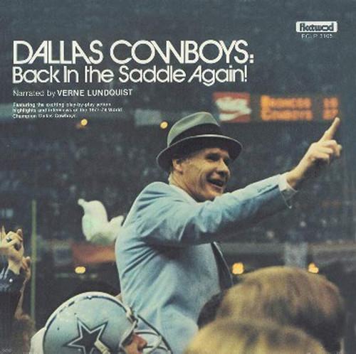 Dallas Cowboys: Back In The Saddle Again!
