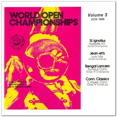 1976 - World Open Championships - Vol. 3