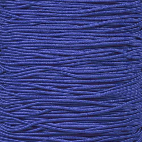 Royal Blue - 1/16 Elastic Cord