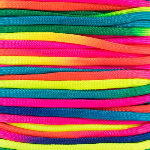 Neon Rainbow - 550 Paracord