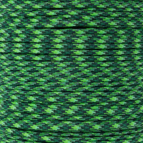 Green Blend - 550 Paracord - 100ft