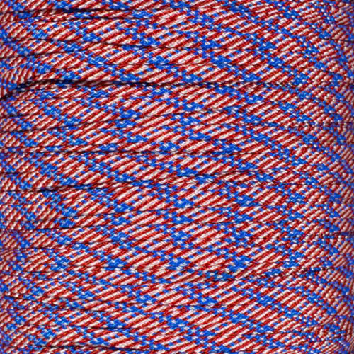Stars and Stripes 650 Coreless Paracord - 100 Feet
