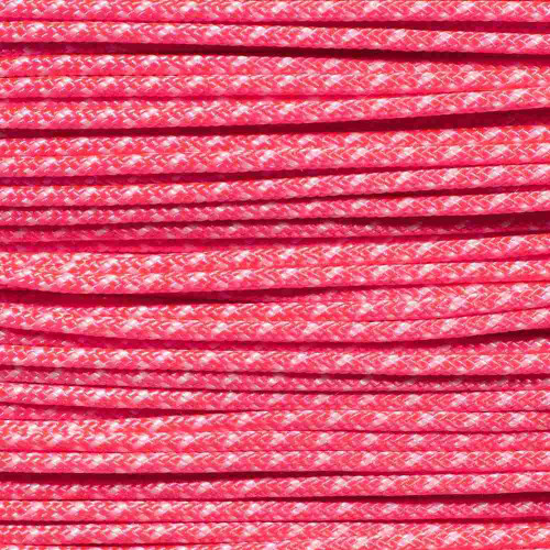 Pink & White - Speed Laces - 100 Feet