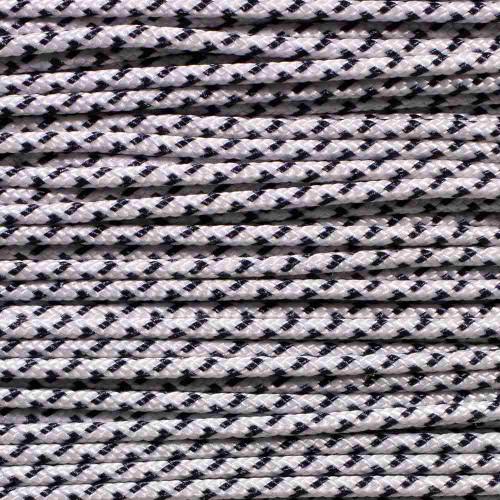 White & Navy - Speed Laces - 100 Feet