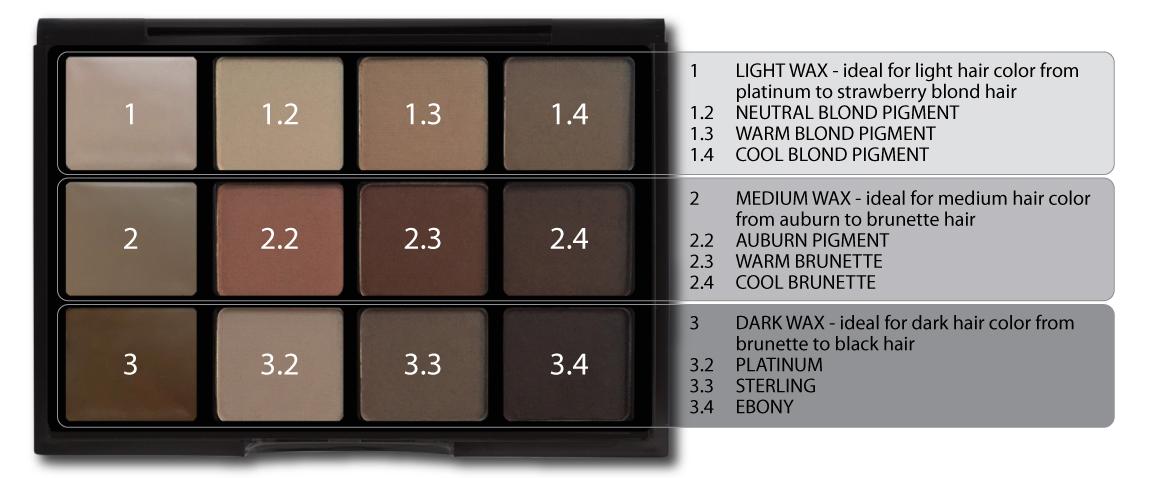 Shop Viseart Professional Brow Palette Structure Professional