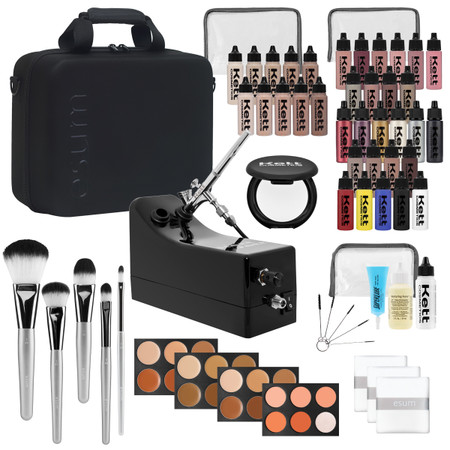 shop muse pro salon airbrush kit  professional makeup kit