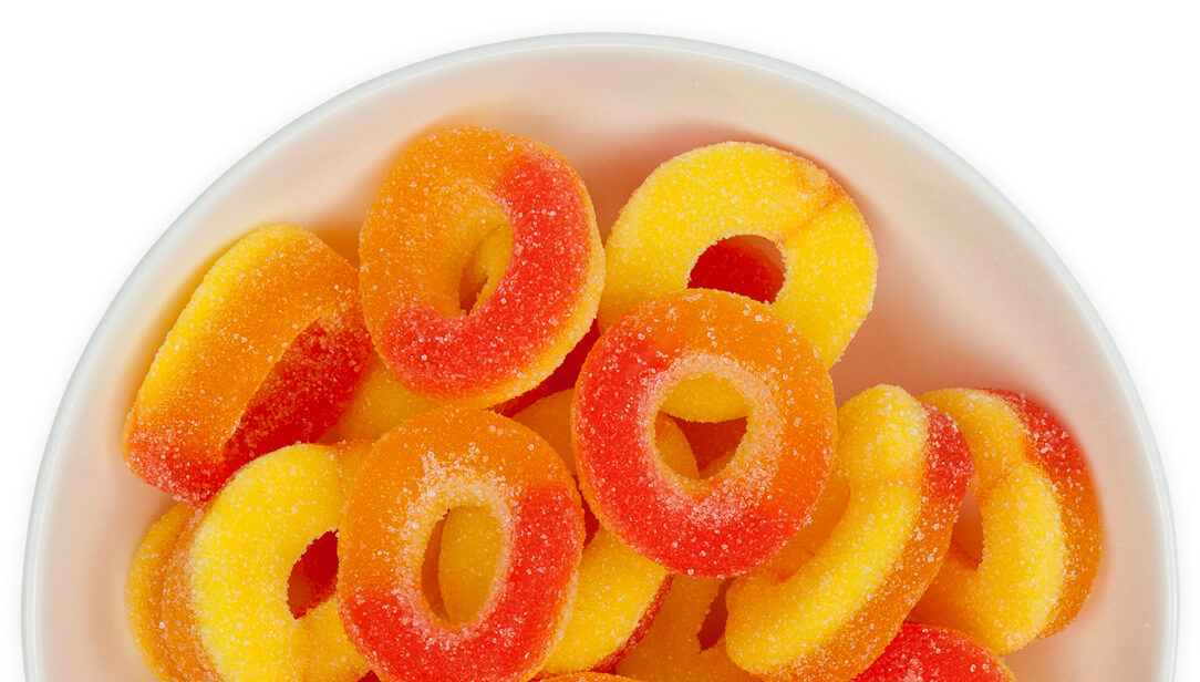 gummy infused products relax edible candy cbd rings gummies