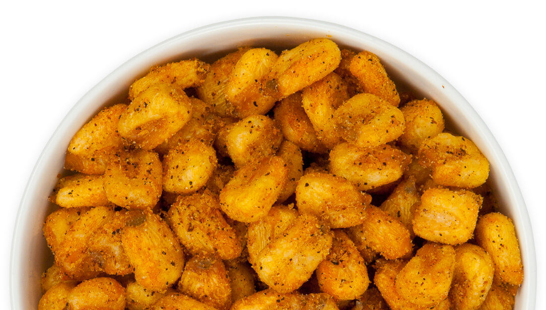 Spicy Cajun Toasted Corn Nuts