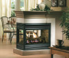 Kingsman mdv31 peninsula gas fireplace