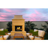 Cordova Ventless Outdoor Fireplace
