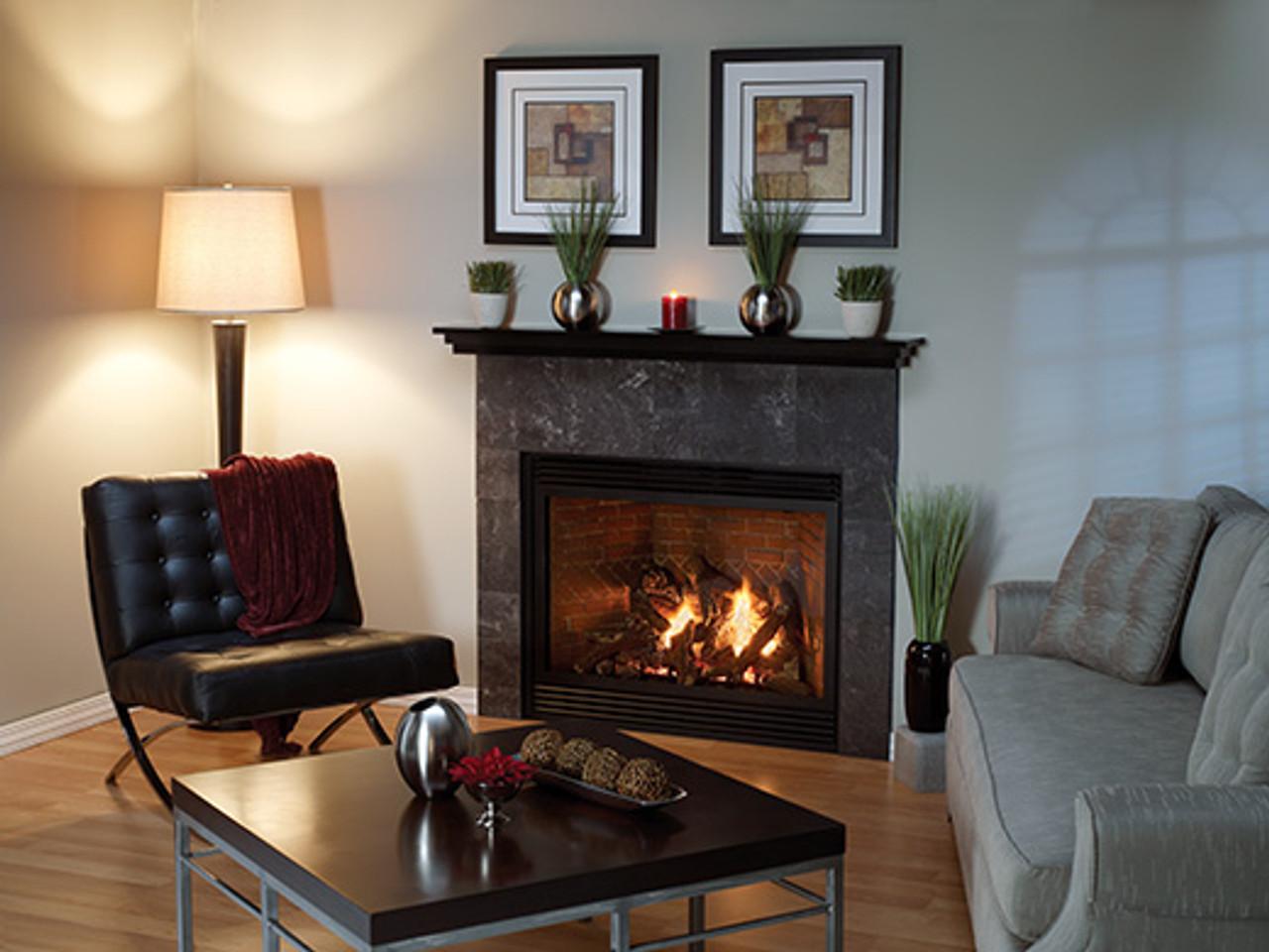 "American Hearth Madison Luxury 42"" Gas Fireplace/ White Mountain HearthTahoe 42"" Luxury On Sale Now!"