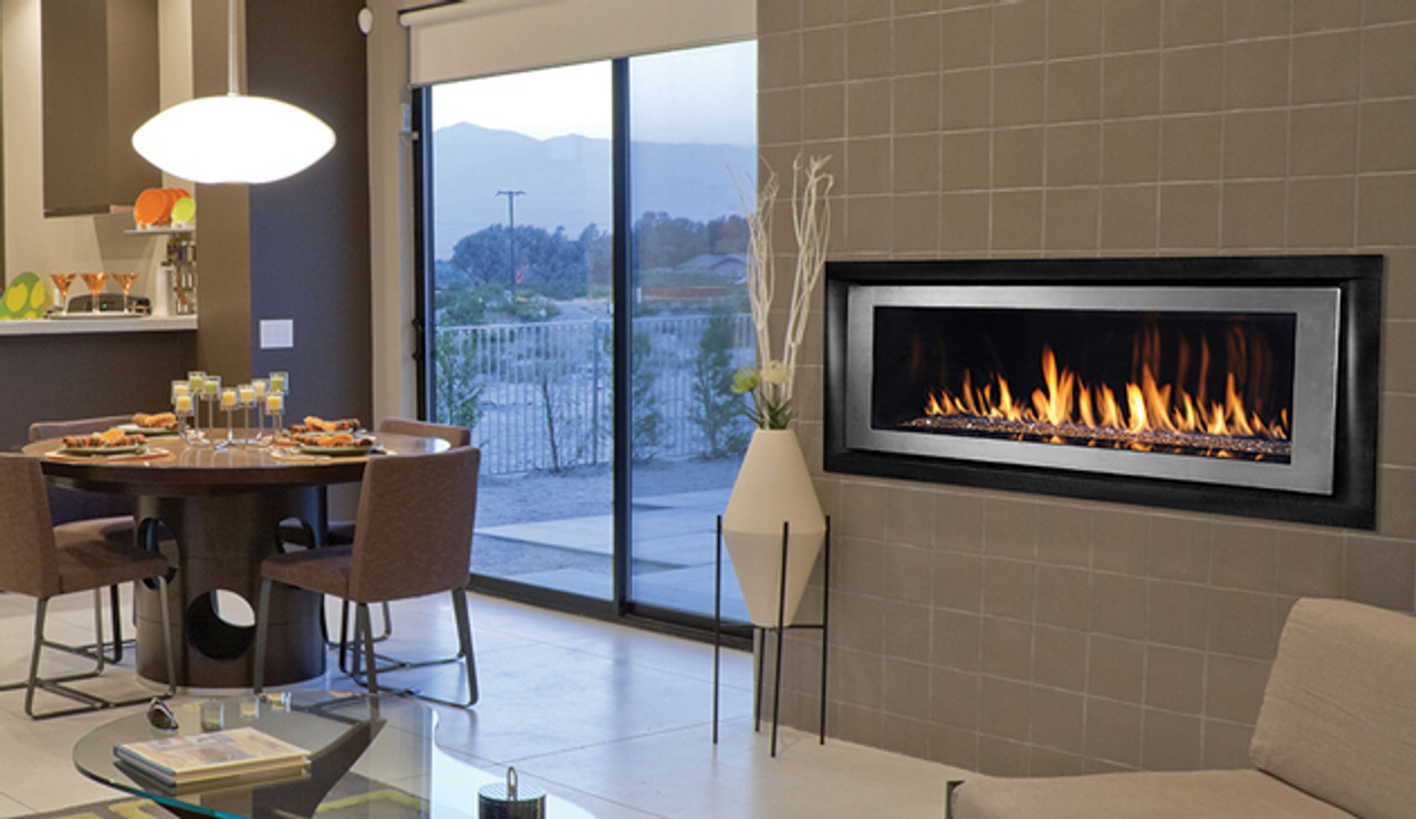 linear gas fireplace. Superior Drl6542 Linear Gas Fireplace A