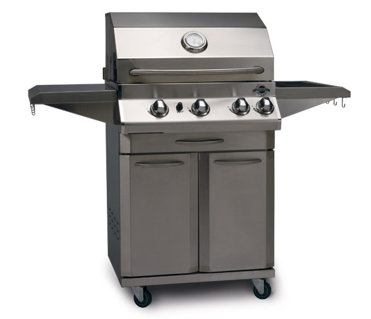 Jackson Grills Lux 550 Cart Model With Rotisserie Kit