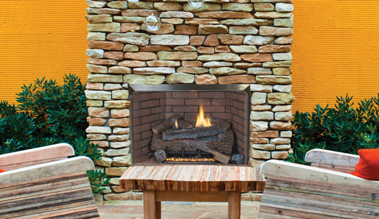 superior vre 4000 outdoor gas fireplace 36 and 42