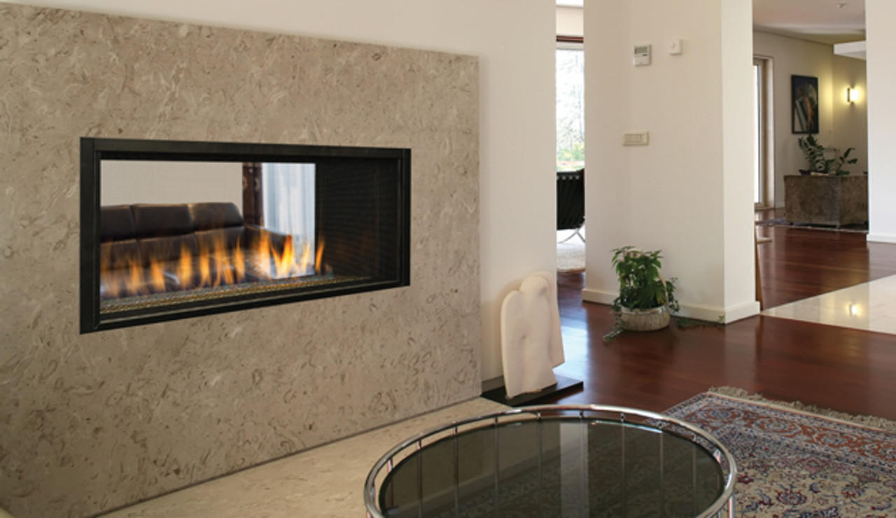 Superior Drl 4543 Custom Series Indoor To Outdoor See Thru Gas Fireplace