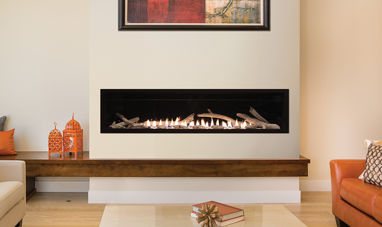 Boulevard Vent Free Linear Contemporary Fireplace 60 Quot