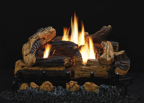 Vent-Free Kennesaw Refractory Log Sets and Vent-Free Burners