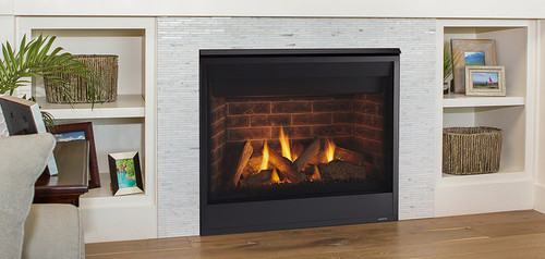 "Majestic Quartz 36"" Gas Fireplace Builders Package Deal"