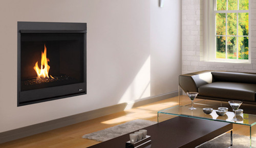 "Superior DRC2033 Gas Fireplace 33"" Contemporary Direct Vent"