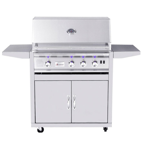 """Summerset 32"""" Sizzler Pro Series Grill On Cart"""