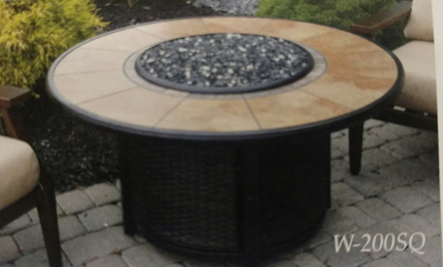 Calumet Round Propane Fire Table