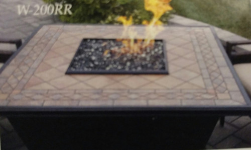 Square Propane Gas Fire Table - Calumet Square