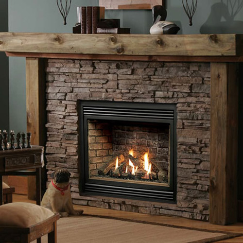 Kingsman HB3632 Zero-Clearance Direct Vent Gas Fireplace