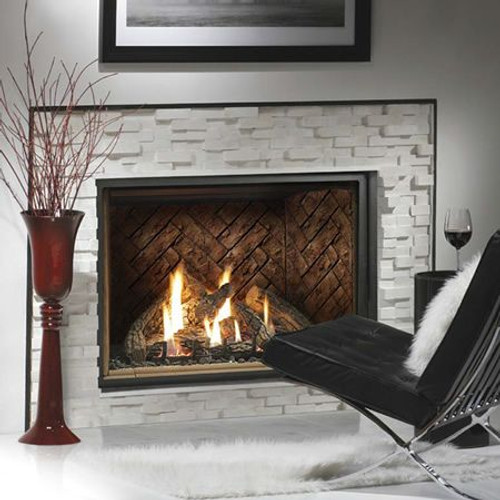 Kingsman HB4740 Zero-Clearance Direct Vent Gas Fireplace