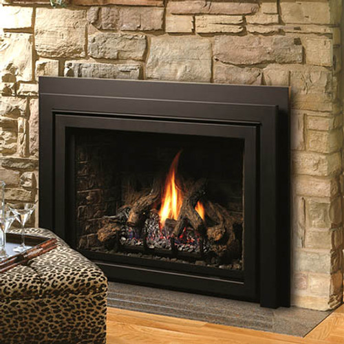 Majestic ruby 35 direct vent gas insert fireplacesrus for Fireplace insert options