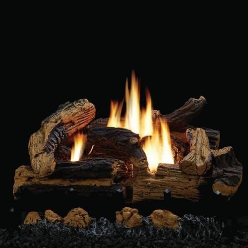 "Breckenridge 36"" Firebox W/ 24"" Kennesaw Log Set Combo"