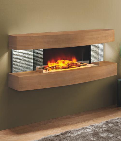 Colorado Curve Electric Fireplace