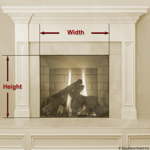 Thermo Rite Chalet Fireplace Glass Door