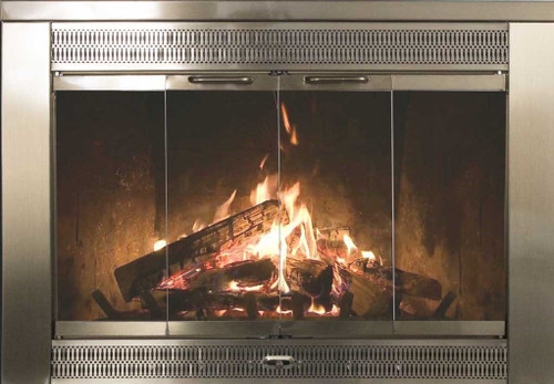 Thermo-Rite - Regal Glass Fireplace Door & Thermo- Rite Celebrity Fireplace Doors
