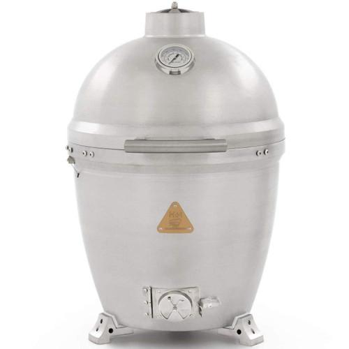 Blaze Cast Aluminum Kamado Grill Durable Charcoal Grill
