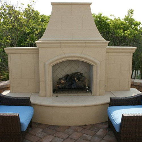 American Fyre Designs - Grand Phoenix Outdoor Fireplace