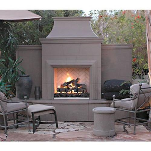 American Fyre Designs Grand Petite Cordova Outdoor Fireplace