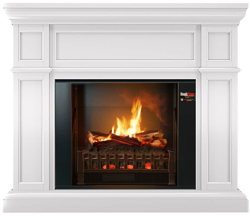 Artemis Holographic Electric Fireplace W/ Mantel Package By MagikFlame