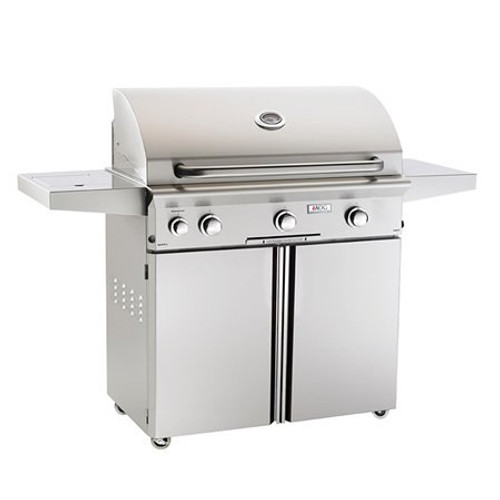 """American Outdoor Grill  L-Series Cart-Mount Gas Grill with Rotisserie - 36"""" LP"""